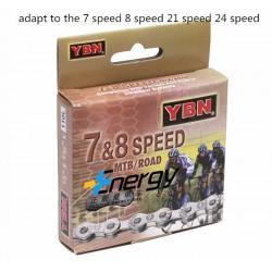 ЦЕПЬ YBN S52 8-SPEED