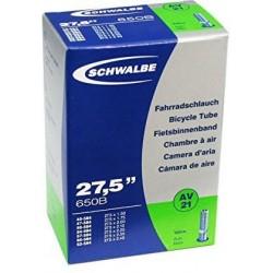 """Камера Schwalbe 27.5""""x1.50-2.40 AV"""