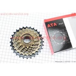 Трещотка ATA KDF-611 28x14Т