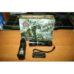 Фонарик Police BL-105 500w