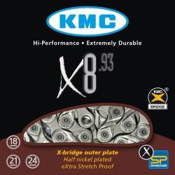 ЦЕПЬ KMC X8.93 116-ЗВ.