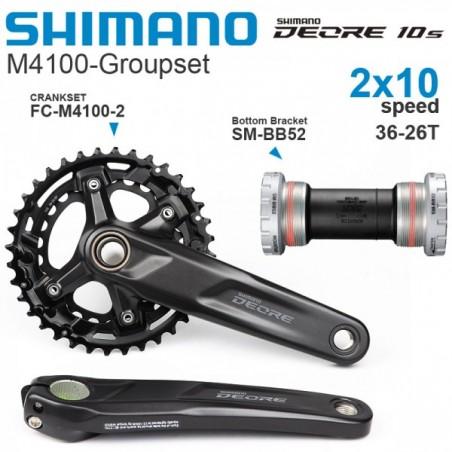 ШАТУНИ SHIMANO DEORE FC-M4100-B2