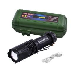 Фонарь BL-8468 Micro USB