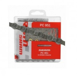 Цепь SRAM РС 951 + PowerLink Gold 9ск