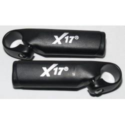 Рожки X-17 под большой палец, черные