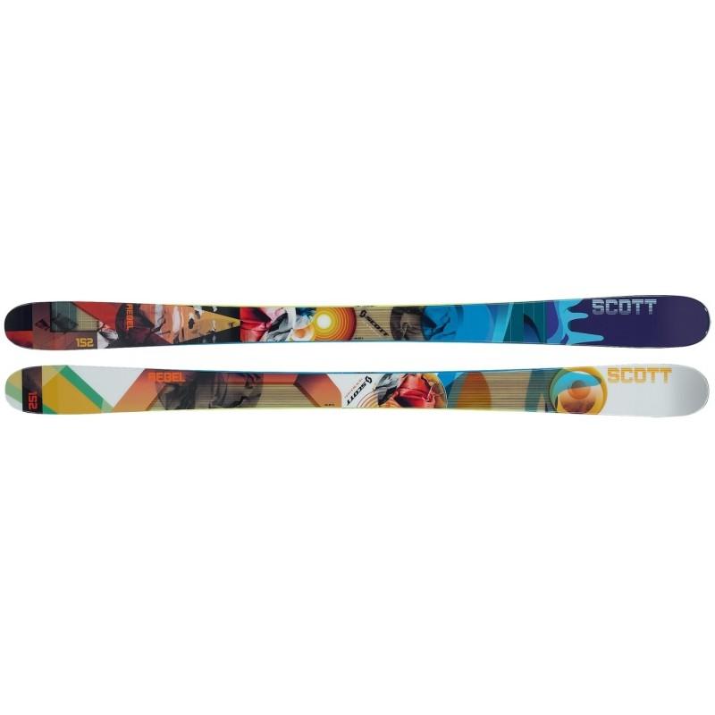 Лыжи Scott Rebel