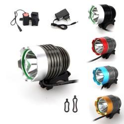 ВЕЛОФАРА CREE XM-L T6 LED (АКБ)